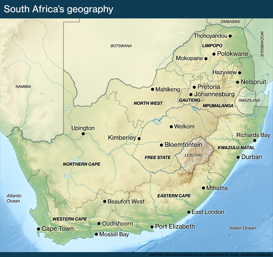 geography and culture of south africa Current, accurate and in depth facts on south africa unique cultural information provided 35,000 + pages countryreports - your world discovered.