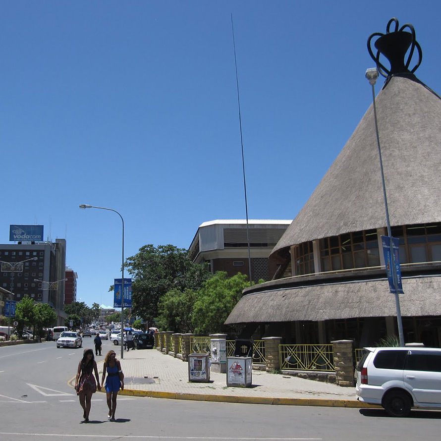 Downtown Maseru, the capital of Lesotho. The demonym for the country's citizens is Basotho. (Stefan Krasowski / CC BY 2.0)