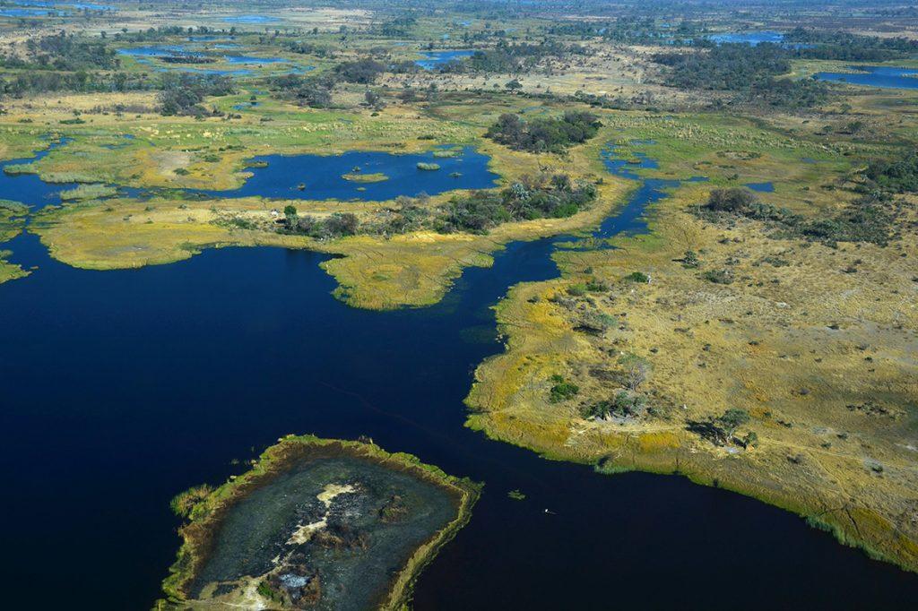 Africa - the Okavango Delta in Botswana
