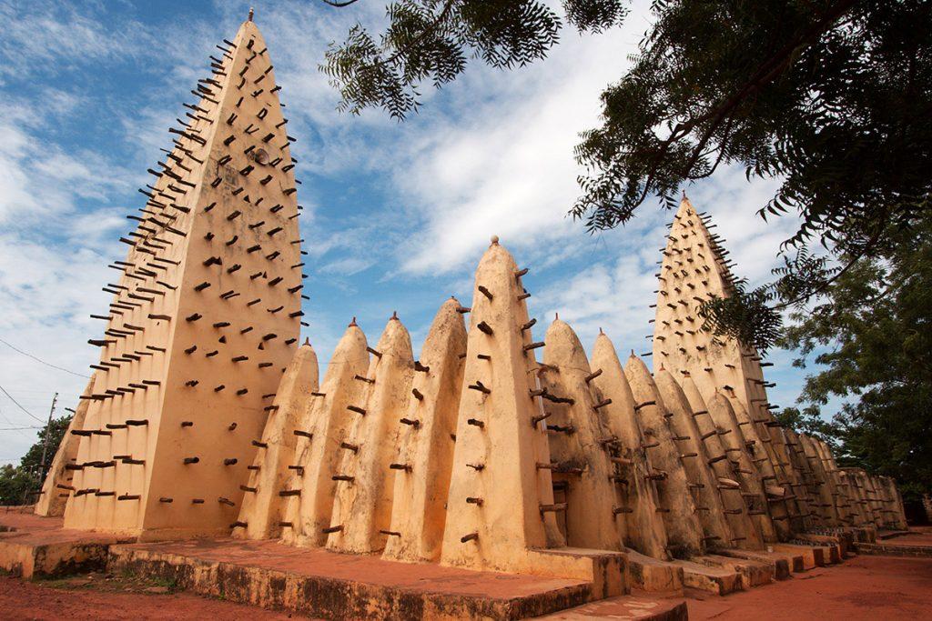 Grand Mosque in the city of Bobo-Dioulasso in Burkina Faso