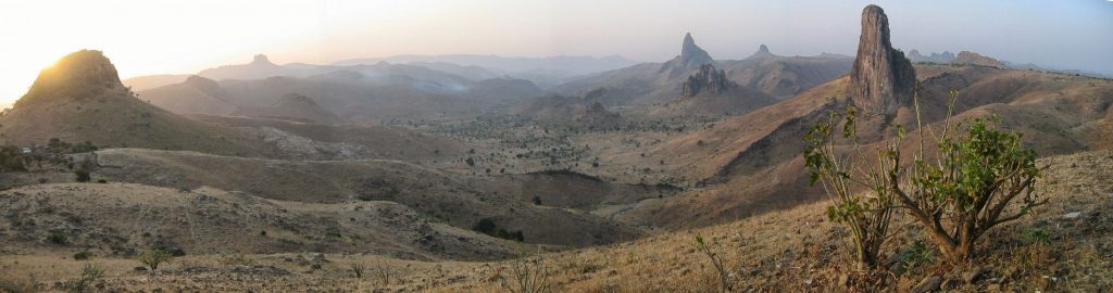 Africa - the Mandara Mountains region near Rhumsiki in the Far North Province of Cameroon