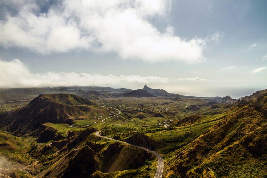 Africa - The São Miguel region in northeastern Santiago, the largest island in the Cabo Verde archipelago