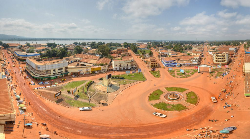 Africa - Bangui, the capital of the Central African Republic