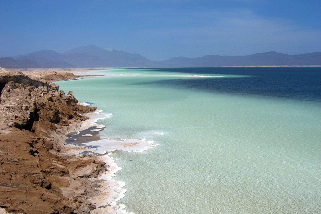 Africa - Lake Assal in Djibouti