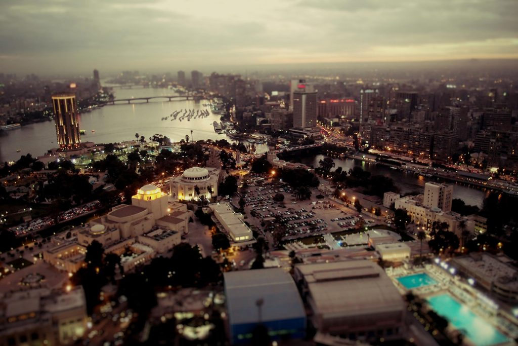 Africa - The city of Cairo in Egypt