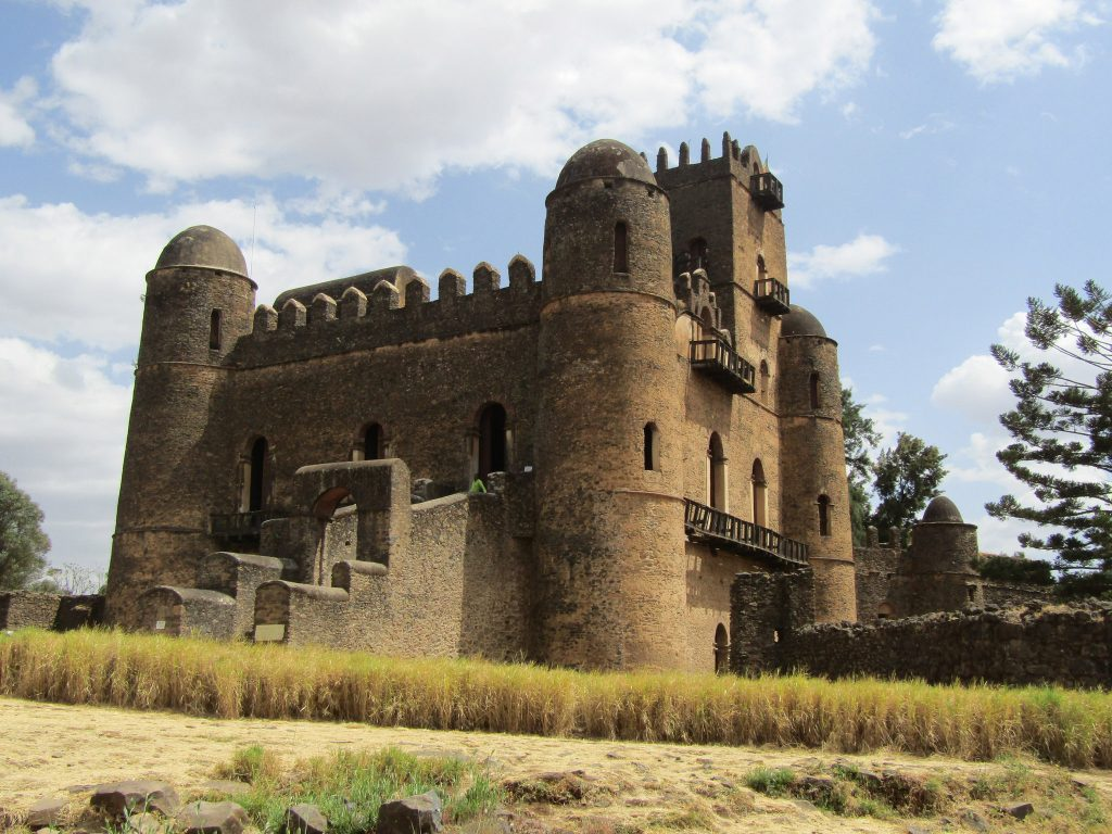 Africa - Fasil Ghebbi is the remains of a fortress-city within Gondar, Ethiopia