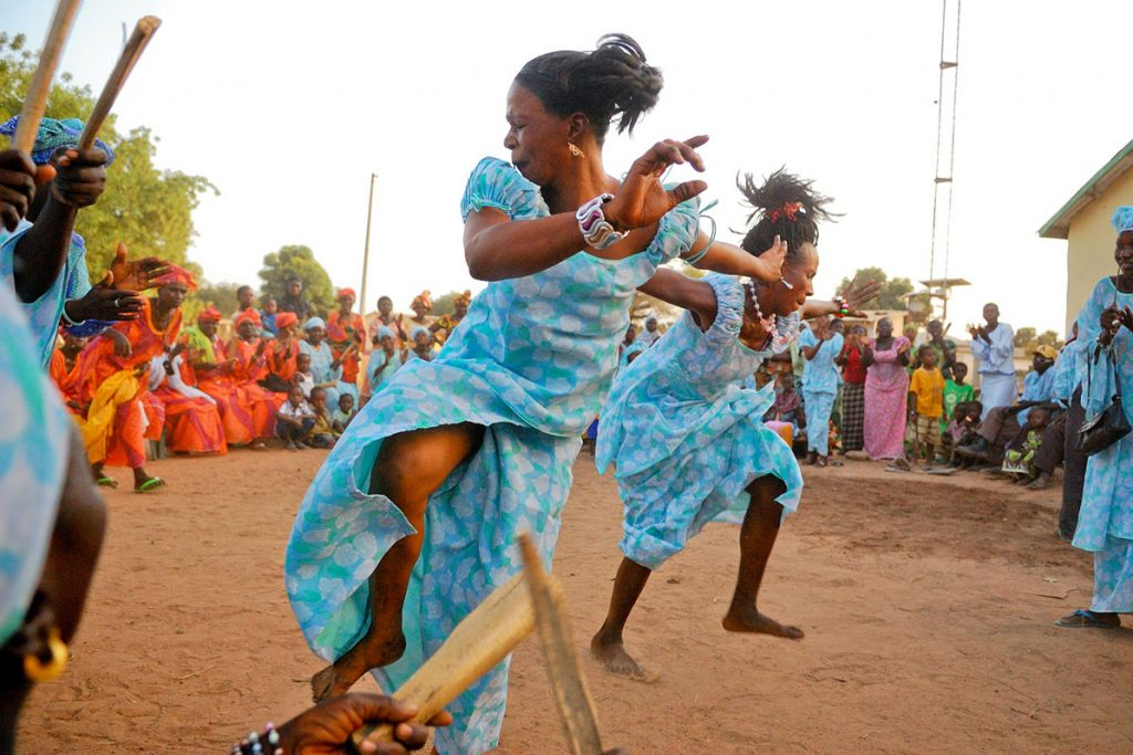 Africa - A dance festival in Dankunku, Central River, the Gambia