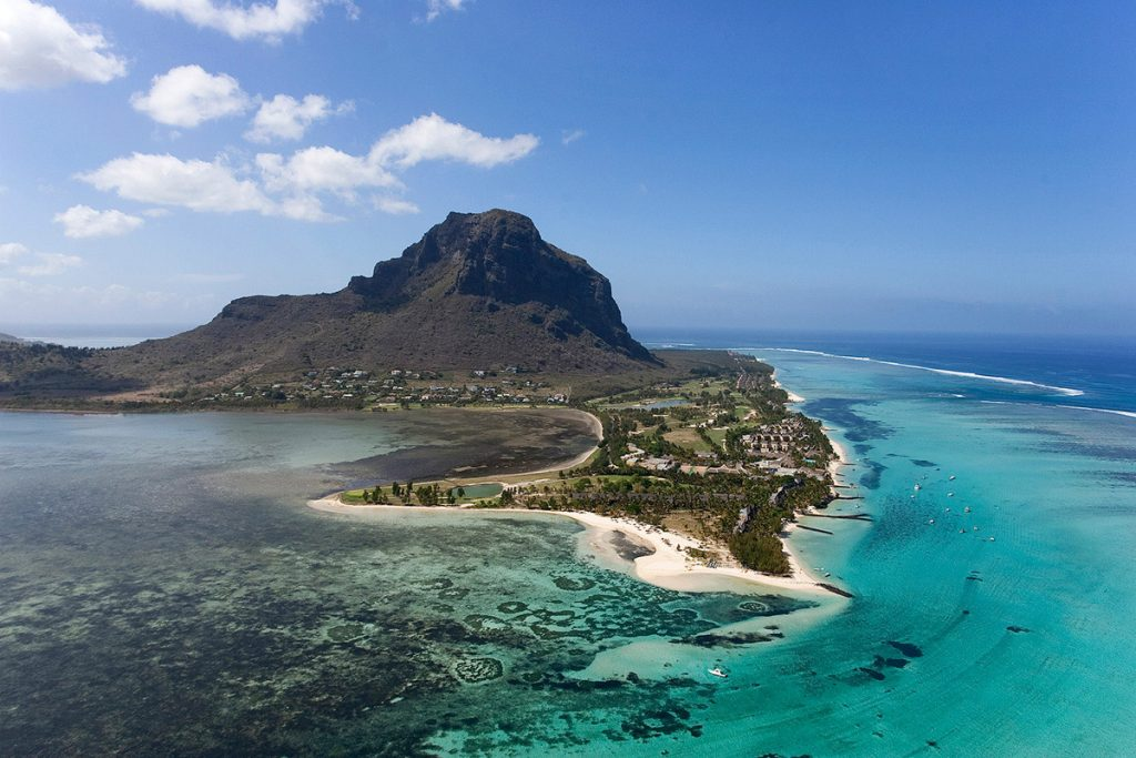 Africa - Le Morne Brabant Peninsula in Mauritius