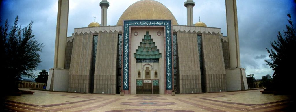 Africa - The National Mosque of Nigeria in Abuja, the country's capital