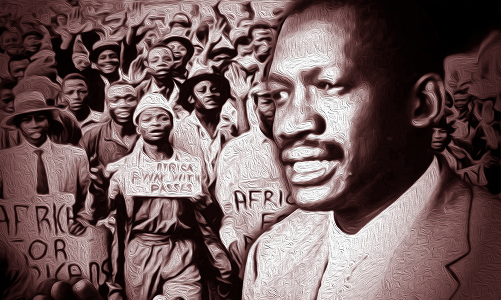 e3615d84e Robert Sobukwe   There is only one race. The human race.  - South Africa  Gateway