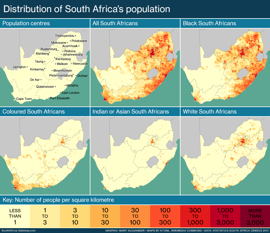 Map Of Africa Before Colonialism.Map Distribution Of South Africa S Races South Africa Gateway