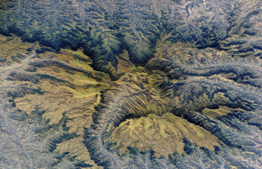 Formed by rapidly erupting lava 31-million years ago, the Semien Mountains in northern Ethiopia, near Gondar in Amhara region, look like a map of Middle Earth. The highest part of the Ethiopian Highlands, the mountains are surrounded by a steep, ragged escarpment with dramatic vertical cliffs, pinnacles, and rock spires - scenery that draws international tourists. The basalt volcanic rock that forms the range, a Unesco World Heritage Site, is up to 3,000 meters thick.